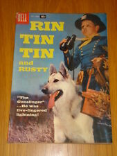 RIN TIN TIN AND RUSTY #21 VG (4.0) 1957 DELL WESTERN COMIC