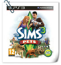 PS3 The Sims 3: Pets SONY PlayStation Electronic Arts Simulation Games EA