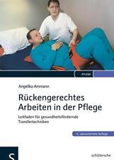 Buch Rückengerechtes Arbeiten in der Pflege von A. Ammann schlütersche