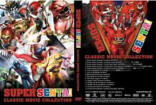 Classic Super Sentai 15 Movie Collection ~ 3-DVD ~ English Sub ~ Power Rangers