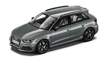 Genuine Audi RS3 Sportback 1:43 Scale Model - Nardo Grey