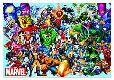 EDUCA JIGSAW PUZZLE COLLAGE OF MARVEL HEROES 1000 PCS SPIDER MAN IRON MAN #15193