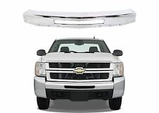 Replacement Chrome Metal Front Bumper for 2007-2013 Chevy Silverado Trucks New