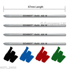 Schmidt (D1) Compatible Refills for Swarovski Crystalline Ball Pens - MIXED PACK