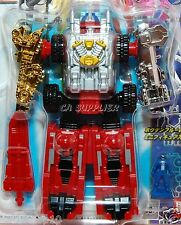 GoGo Boukenger Sentai Megazord DX Daibouken Blue Action Figure Transformer Toy