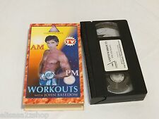 Fitness made simple AM PM workouts John Basedow as seen on TV VHS tape RARE