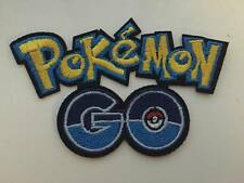 POKEMON GO Iron/Sew on Embroidered Patch Badge Logo kids game costume