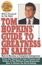 Tom Hopkins Guide to Greatness in Sales: How to Become a Complete Sale-ExLibrary