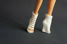 White Shoes Boots Monster High Doll Create a Monster Child Gifts Accessory 183#