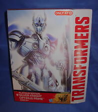 TRANSFORMERS SILVER KNIGHT OPTIMUS PRIME PLATINUM EDITION LEADER AOE TARGET EXCL