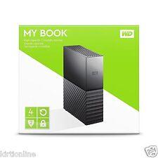 WD 4TB My Book Desktop Storage External Drive WDBBGB0040HBK WD 4TB**