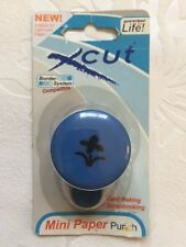 NEW & SEALED - XCUT MINI PAPER PUNCH - FLOWER ON STEM - BORDER SYSTEM CARDMAKING