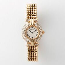 Cartier Colisee Watch, 18K Yellow Gold and Diamonds