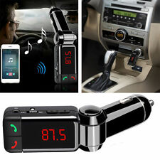 LCD Bluetooth Car Kit MP3 FM TRASMETTITORE CARICABATTERIE USB 4 Vivavoce Samsung Galaxy