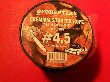NEW FORESTER 4.5 ROLL RECOIL STARTER ROPE FITS TILLERS SNOW BLOWERS MOWERS 1964