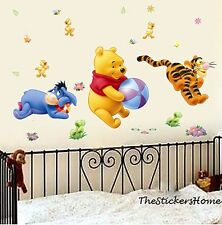 Removable Winnie The Pooh Tigger Play Wall Decal Art Stickers Nursery Baby Room