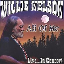 Willie Nelson - All Of Me: Live in Concert (CD) Georgia on My Mind