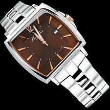 KENNETH COLE MEN'S BROWN WITH ROSE GOLD COLLECTION WATCH KC3955