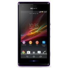 SONY XPERIA M C1905 PURPLE ANDROID SMARTPHONE HANDY OHNE VERTRAG WLAN KAMERA