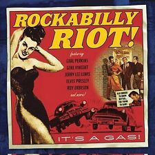 Various Artists, Rockabilly Riot, Excellent Original recording remastered