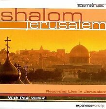 Shalom Jerusalem by Paul Wilbur (CD, Hosanna! Music)