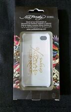"Ed hardy ""Love Kills Slowly"" Snap On Case iPhone 4/4S"