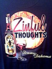 NEW TOMMY BAHAMA TR213951 NAVY RED WINE ZINFANDEL ZINFUL THOUGHTS T SHIRT 2XL 2X