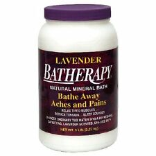 Queen Helene: Natural Mineral Batherapy Salts Relax Tired Muscles Lavender 5 lb