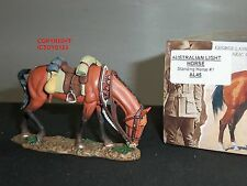 KING AND COUNTRY AL45 AUSTRALIAN LIGHT HORSE STANDING NO.1 METAL FIGURE