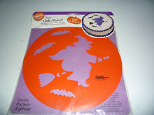 Witch Halloween Cake Stencil from Wilton  - NEW