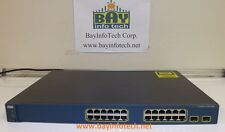Cisco WS-C3560-24TS-S Cisco 3650 24-Ports 10/100 Ethernet Switch FAST SHIPPING