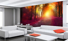 Fantasy in Autumn Park Wall Mural Photo Wallpaper GIANT DECOR Paper Poster Free