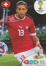 N°294 ROCARDO RODRIGUEZ # SWITZERLAND PANINI CARD ADRENALYN WORLD CUP BRAZIL 201