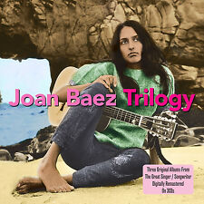 Joan Baez TRILOGY Vol. 1 / Vol. 2 / Folksingers 'Round Harvard Square NEW 3 CD