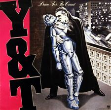Y & T 1985 DOWN FOR THE COUNT HEAVY-METAL PROMO POSTER ORIGINAL