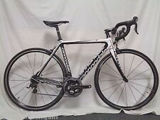 2012 CANNONDALE SUPERSIX ROAD BIKE 52CM SHIMANO SRAM RED CONTINENTAL USED CLEAN