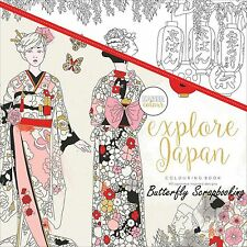 Explore Japan Coloring Book For Markers Watercolors Pencils Kaisercraft New