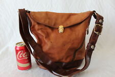 Marino Orlandi Made in Italy Embossed Leather Purse Tote Shoulder Bag Purse S