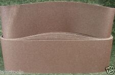 """10pc 6 """" X  48 """" 120 GRIT SANDING BELT butt joint sand paper made in USA new"""