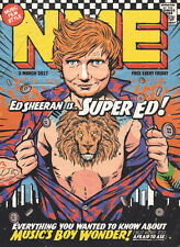 The NEW MUSICAL EXPRESS NME 3 MARCH 2017 nme Ed Sheeran Cover n.m.e. divide ÷