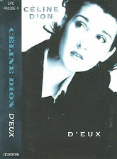CELINE DION D'EUX CASSETTE EPIC EPC 480286 4 SOFT ROCK POP ROCK THE FRENCH ALBUM