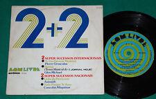 """Azimuth - Casa das Maquinas Glen Michael Pierre - 2+2 7"""" Ep 1975 Som Livre"""