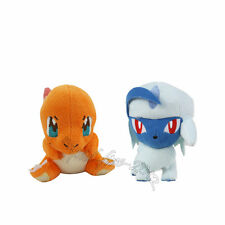 Mega Absol & Charmander Plush Doll Pokemon Figure Toy Set of 2