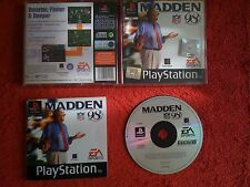 MADDEN 98  ORIGINAL BLACK LABEL  PLAYSTATION PSONE PS1 PS2 PAL