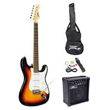 New Pyle PEGKT15SB Beginner Electric Guitar Package - Sun Burst