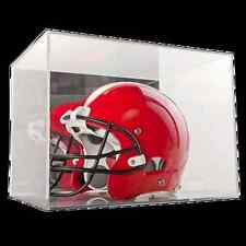 BALLQUBE FULL SIZE FOOTBALL HELMET DISPLAY CUBE CASE HOLDER with MIRROR