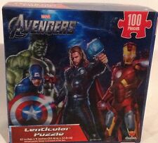 Marvel Avengers Lenticular Puzzle - Great Gift For Your Super Hero NEW
