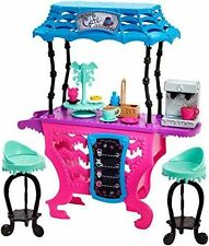 Monster High Fright Roast Coffee Cafe Stand Playset New