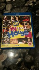 WWE: The Best of WWE In Your House (Blu-ray Disc, 2013, 2-Disc Set) UK Region B