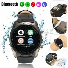 Waterproof  Bluetooth  Smart Watch Wrist Phone Mate SIM For Iphone IOS Android